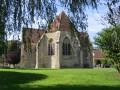Eglise de Cessy les Bois et son village