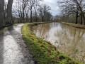 Le Canal d'Ille et Rance en amont de Betton en hiver