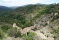 Panorama sur le barrage de Malpasset