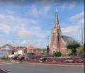 Place Auguste Gallet et l'église Saint-Amand